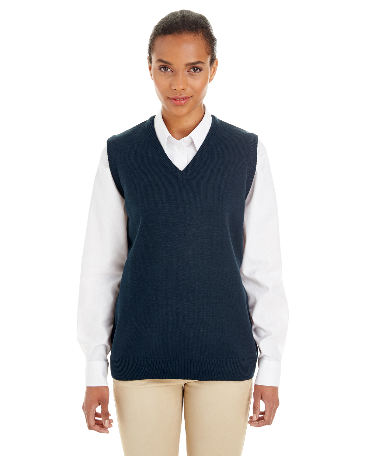 Women'S Sweater Vest Navy M 120
